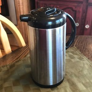 Stainless Steel Coffee Carafe